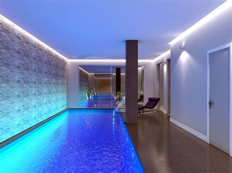 stunning swimming pool basement conversion dream house