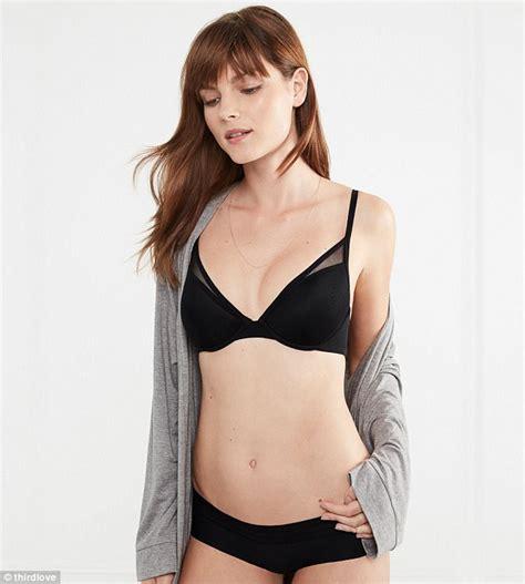 Side Asymmetrical Seamless Bra company thirdlove creates bras for asymmetrical daily mail