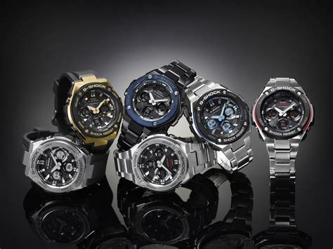 Casio G Shock Gst S110bd 1a2dr Tough Solar Stainless Steel Band 200m a week on the wrist casio g shock g steel gst w110d 1aer
