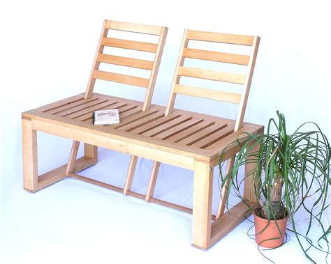 bench bank garden seat bench wooden umklappare backrests bench
