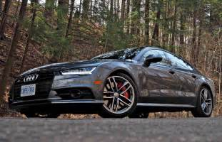 car review 2017 audi s7 driving