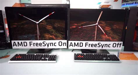 amd freesync side  side   laptop  computex