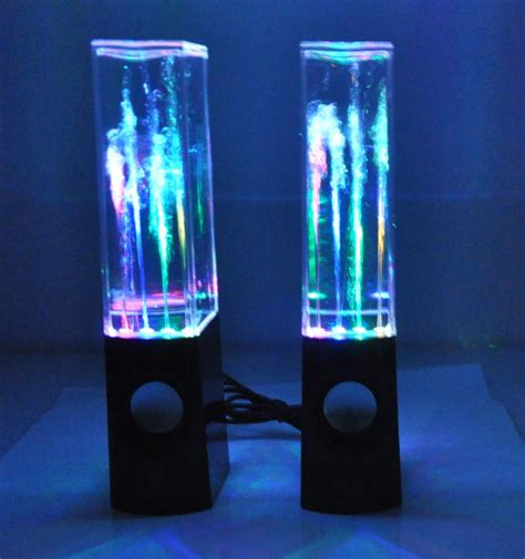 bluetooth water light speakers wireless bluetooth music fountain dancing water speakers