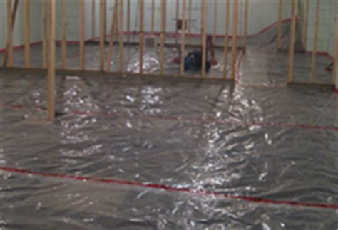 vapor barrier basement floor things to consider when refinishing your basement