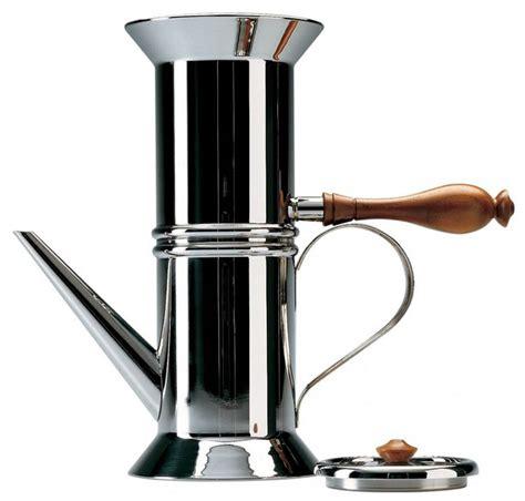 90018   Italian Neapolitan coffee maker   Alessi: NOVA68.com