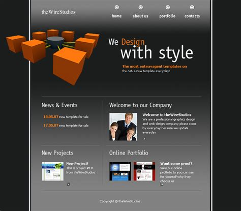 flash web layout free download flash web design template by atomiccc on deviantart