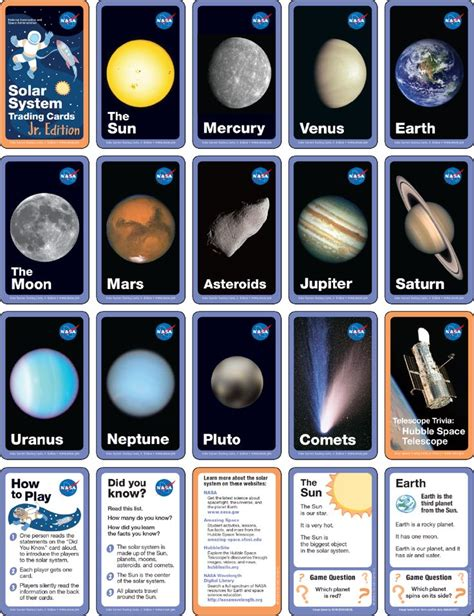 trading card template without energy type 201 best earth space science christian explore