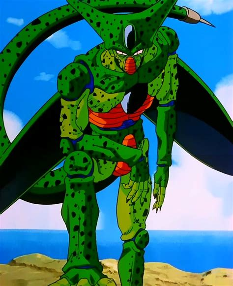 dbz cell imperfect more dbz pics http www imperfect cell from dbz saga dragon ball z pinterest