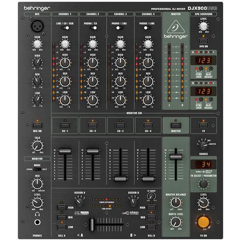 Mixer Dj Behringer behringer djx900usb 171 dj mixer