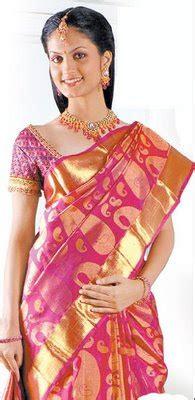 Blouse By Heaven Light Clo beautiful collection of kancheepuram silk sarees