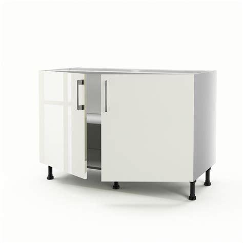 caisson evier cool meuble de cuisine sousvier beige portes perle hxlxp