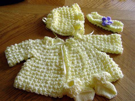 Free Crochet Pattern Baby Layette