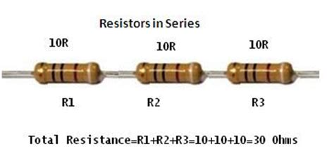 resistors in series total resistance electronics repair made easy how to make up any value of resistor for replacement if you can t