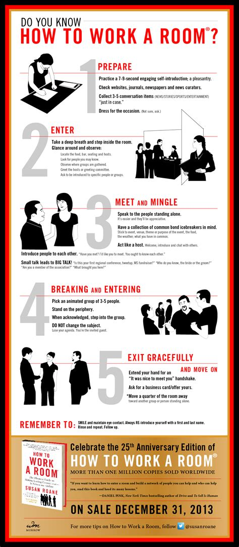 how to work a room how networking master susan roane works a room dorie clark