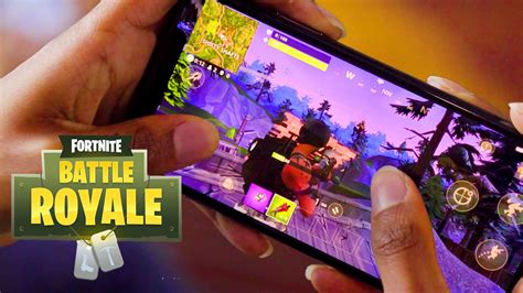 fortnite for mobile fortnite battle royale mobile reveal trailer gamespot