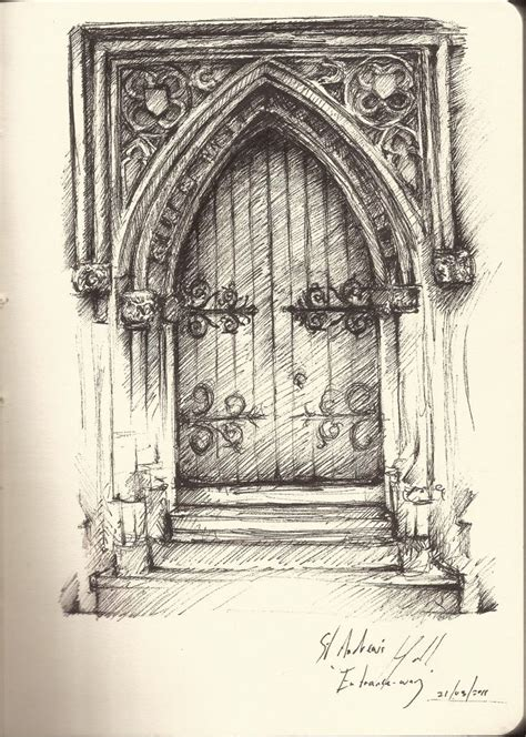 25 best ideas about architectural sketches on pinterest architecture drawing art drawn doorway rococo pencil and in color drawn doorway