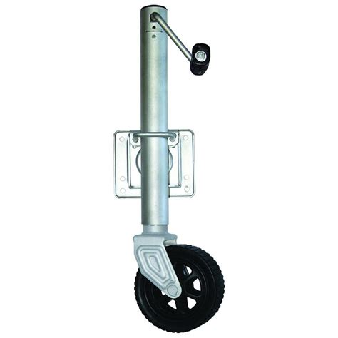 trailer swing jack 1000 lb swing away trailer jack with 6 in wheel br59931