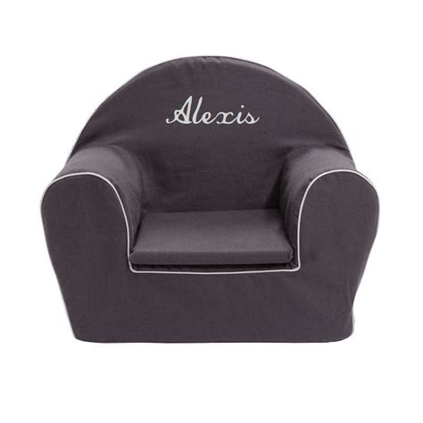 Fauteuil Gris Anthracite by Fauteuil Club Enfant Gris Anthracite Ma Chaise