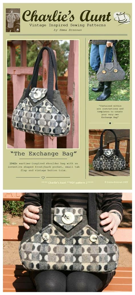 sewing pattern exchange 785 best bags to sew images on pinterest bags sewing