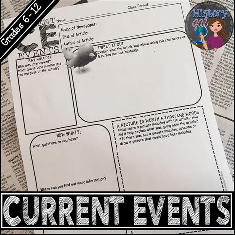 Tips Current Events by Survival Tips For Teaching A Subject You History Gal