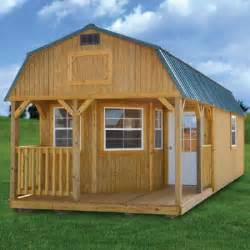 Pics Inside 14x30 House Rent To Own Treated Deluxe Lofted Barn Cabin