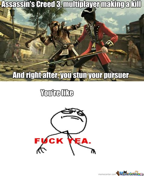 Assasins Creed Memes - assassin s creed 3 multiplayer by lpvaggelis meme center