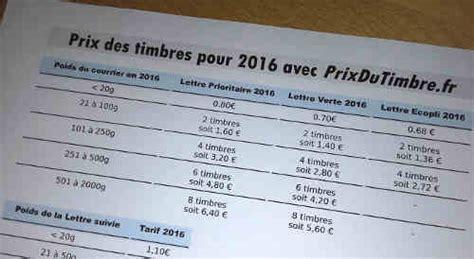 tarifs postaux 2017 l affranchissement tarifs postaux 2016 2017 l affranchissement la poste en 1 page prix du timbre poste 2016 2017
