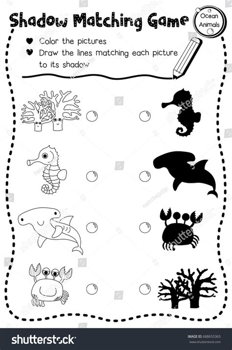 water animals worksheets kindergarten creatures preschool worksheets best free printable worksheets