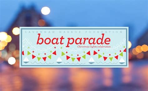 savannah boat parade of lights 2017 mcmillan inn savannah georgia blog