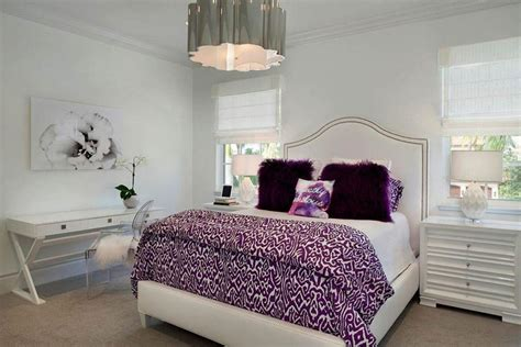 white bedroom with accent color 31 gorgeous white bedroom ideas design pictures