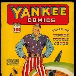 yankee doodle real name yankee doodle jones dandy character comic vine