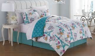 paris bed in a bag up to 75 off on paris themed bedding sets livingsocial shop