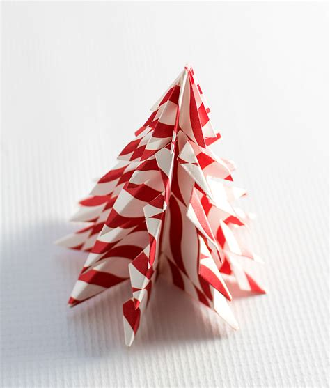 Origami Tree Ornaments - on home trees