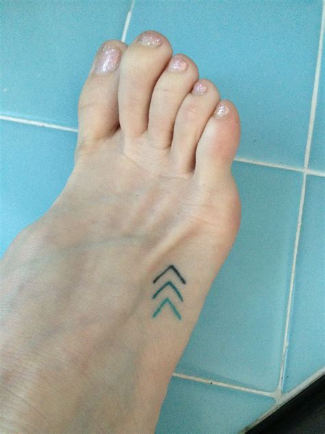 chevron tattoo meaning tiny blue chevron foot move forward small