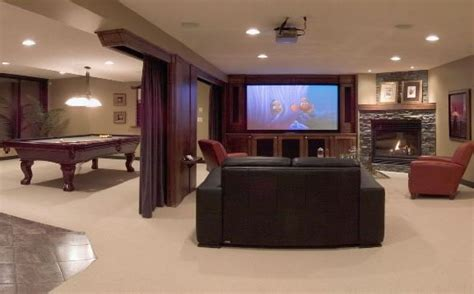 Basement Homes by Denver Basement Remodeling Denver Basements Basement