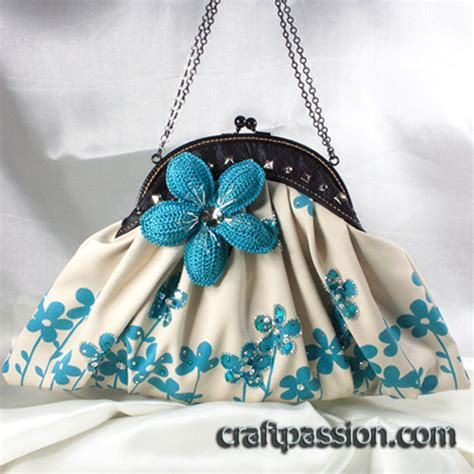Handmade Clutch Purse Pattern - handmade clutch bags by craft