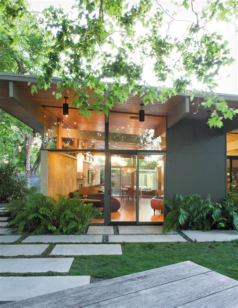creative landscape design for a renovated eichler in
