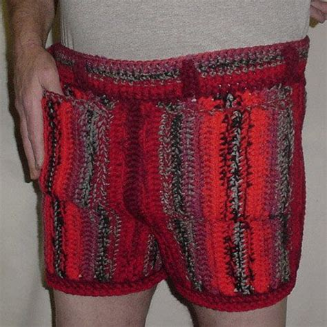 pattern crochet mens shorts 154 best crochet for men images on pinterest crocheting
