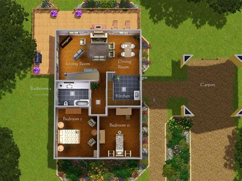 Sims 3 Mansion Floor Plans Mod The Sims Gray Is The New Greige Renovated