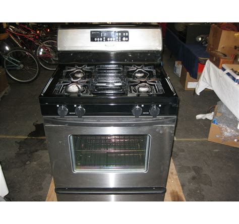 Oven Golden whirlpool gold accubake gas stove oven