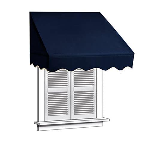 Aleko Awning Installation Aleko 4x2 Blue Window Awning Door Canopy 4 Foot Decorator