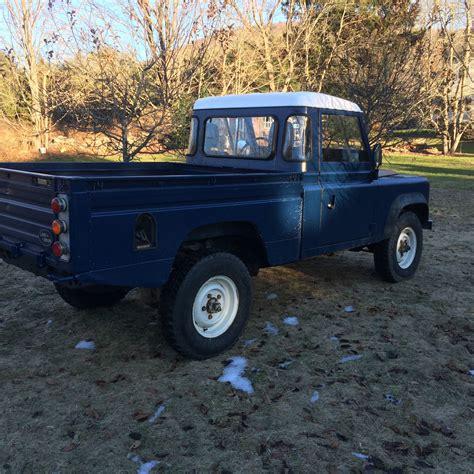 vintage land rover defender 110 land rover defender 110 hi cap pick up 1985 classic land