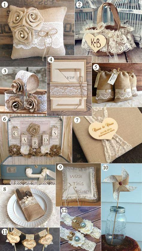 diy burlap and lace wedding decorations best 25 burlap wedding centerpieces ideas on