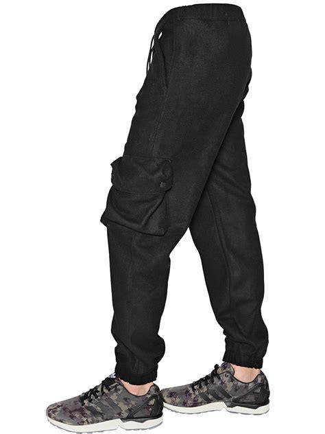 Sweat Pant Adidas Black Kode 002 adidas originals wool blend cargo in black lyst