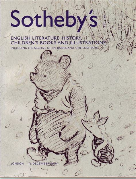 from houses to revisiting a literary childhood books 2004 sotheby s literature history