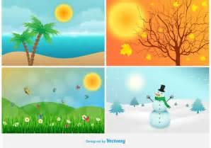 seasons vectors free vector graphics everypixel
