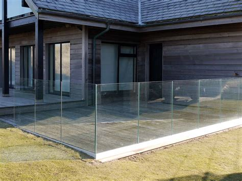 infinity glass infinity glass balustrade bespoke glass balustrades