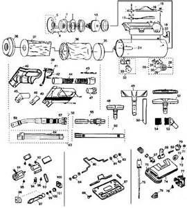 royal 4250 metal tank vacuum cleaner parts