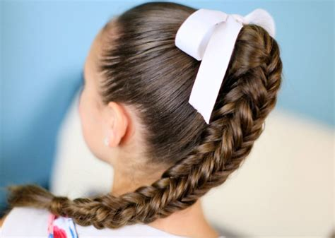kids fishtail photo with hair added 5 different hairstyles for kids parenting