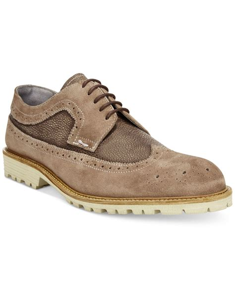 kenneth cole oxford shoes lyst kenneth cole n steady oxford shoes in brown